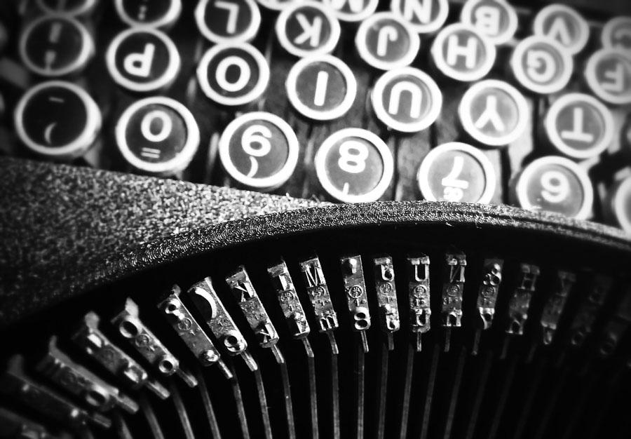Werbetexter - Papyrus Autor - Titelbild Schreibmaschine-1